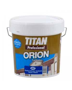 Titan Pintura Plástica Satinada Fachadas A3 Titan