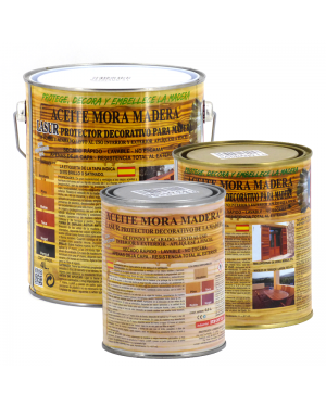 Mora Varnishes Blackberry Oil Colorless Wood