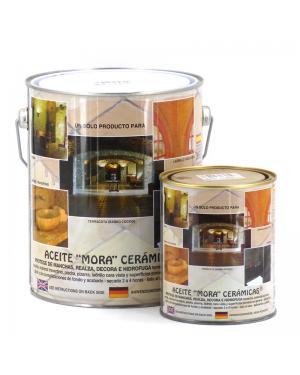 Vernis Mora Huile de cuir mat en céramique moraine