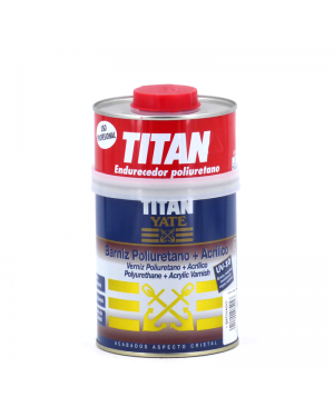 Titan Yate Barniz Poliuretano + acrílico brillo Yate Titan