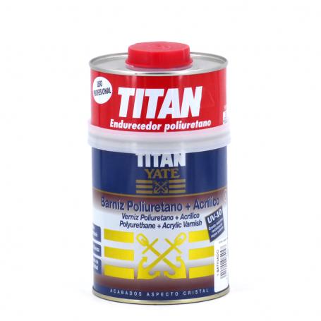 Titan Yate Barniz Poliuretano + acrílico satinado Yate Titan