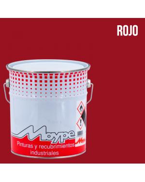 Imprimación Sintética Antioxidante Roja 4L Moype