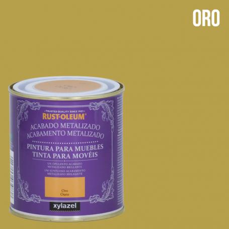 Rust-Oleum Pintura Muebles Acabado Metalizado Rust-Oleum Xylazel