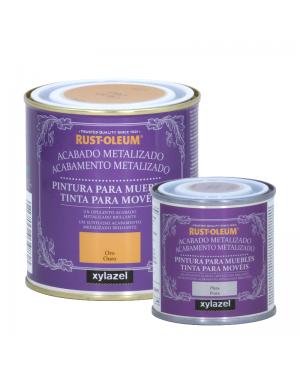 Rust-Oleum Peinture Meubles Finition Métallique Rust-Oleum Xylazel