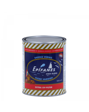 Epiphanes Marine Varnish High gloss Clear Vanish 1L Epifanes