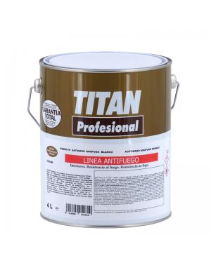 Titan Esmalte ignífugo Blanco 4L Titan