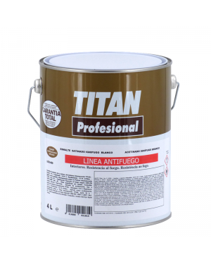 Flammhemmendes Email Weiß 4L Titan