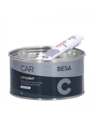 Besa Masilla baja densidad multifunción 2C URKI-LIGHT Beige 1L BESA