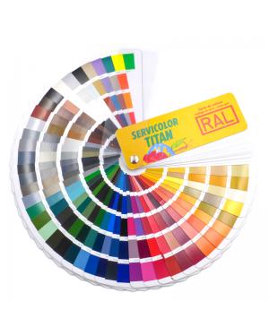 Titan Carta de colores RAL K7 Classic 213 colores