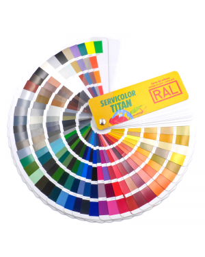 RAL K7 Classic color chart 213 colors