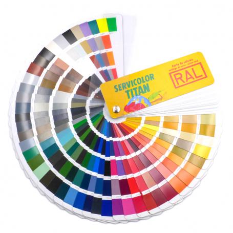 Carta de colores RAL K7 Classic 213 colores