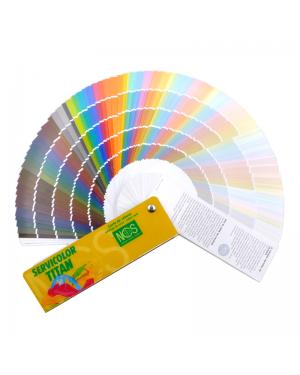 NCS-Farbkarte Auswahl 980 Farben