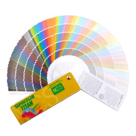 Carta de colores NCS Selección 980 colores