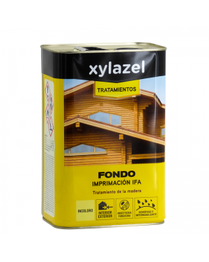 To protect the wood background Xylazel