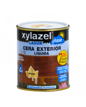 Xylazel Lasur Wax hors de l'eau satinée 750 ML Xylazel
