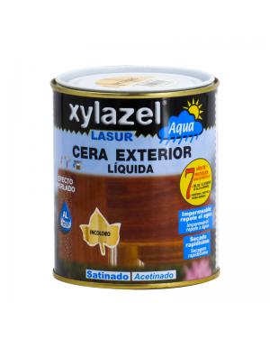 Xylazel Lasur Wax fora do cetim de água 750 ML Xylazel