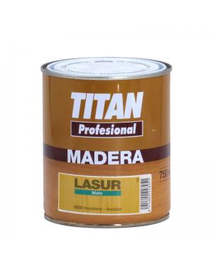 Titan Lasur farblos mattiert 750 ML Titan