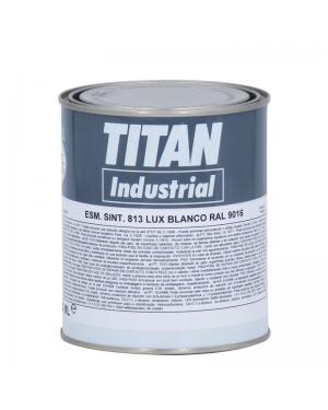 Titan Émail synthétique 813 blanc RAL 750 ML Titan
