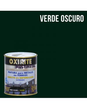 Pintura para metales no férreos Oxirite multimetal verde oscuro 750ml