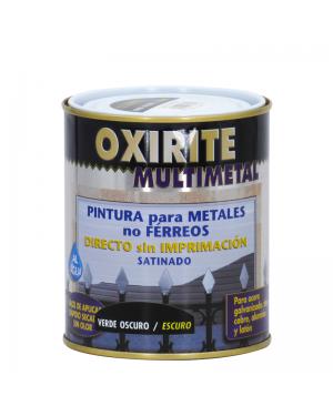 Xylazel Peinture pour métaux non ferreux Oxirite multimétal vert foncé 750 ml