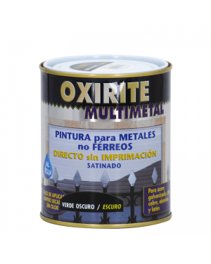 Xylazel Pintura para metales no férreos Oxirite multimetal verde oscuro 750ml