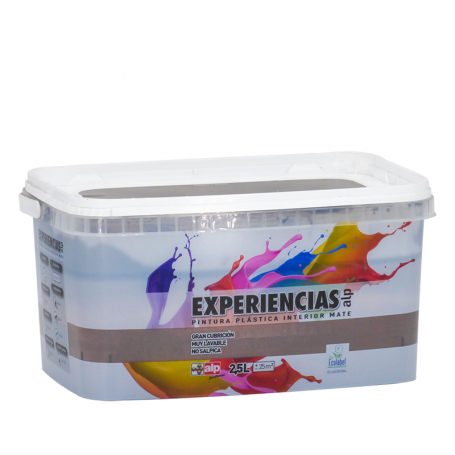 Alp Pinturas Pintura Plástica Interior Mate Experiencias ALP