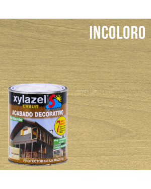Lasur protettivo legno lucido 750ml Sol Xylazel