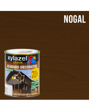 Lasur protector de madera brillante 750ml Sol Xylazel
