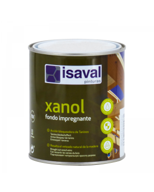 Isaval Paints Impurgent background Xanol 750ML Isaval