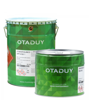 Irurena Group White Otadur Fund APP-4160/1 26KG + Hardener 10L OTADUY
