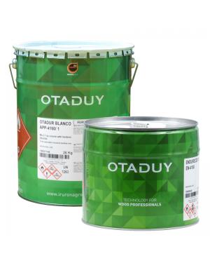 Fonds Otadur blanc du groupe Irurena APP-4160/1 26KG + Durcisseur 10L OTADUY