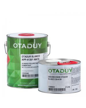 Irurena Group Laca poliuretano Otadur blanco APP-4130/1 Mate 4KG+Endurecedor 2L