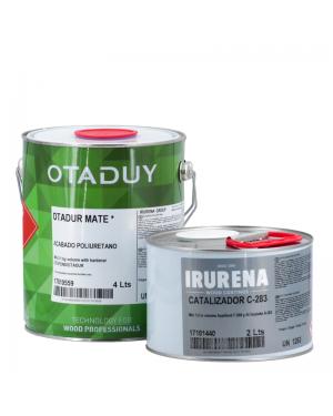 Irurena Group Laca poliuretano Otadur Incoloro Mate 4L+Endurecedor 2L