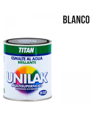 água esmalte brilhante Unilak