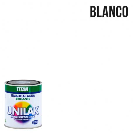 Titan Esmalte al agua Unilak Brillante