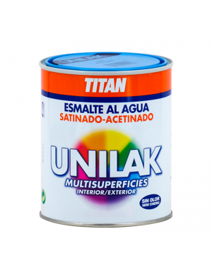 Titan Satin Unilak poli à base d'eau Couleurs discontinues