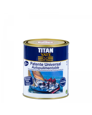 Titan Yate Patente Autopul. Univ. Titan Velocidad Media 750 mL