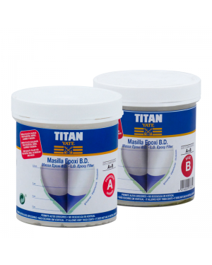 Titan Yacht Epoxy Putty Low Density 1 L