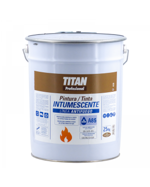 Titan Profesional Pintura Intumescente al Agua Titan A85 25 KG