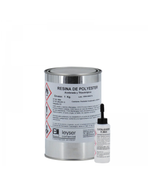 Leyser Accelerated Polyester Resin Tixotropada