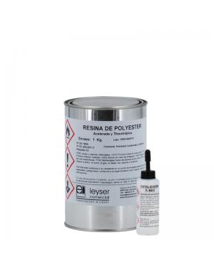Tixotropada in resina poliestere accelerata Leyser