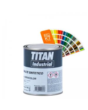 Titan Industrial Esmalte Sintético Satinado Titan 814 RAL