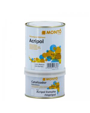 Esmalte Acripol Monto 2K Blanco Brillante 750ml