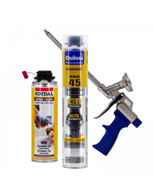 Kit Foam PU Orbafoam PRO45 + Gun + Cleaner