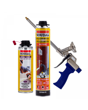 Multipurpose PU Foam Kit + Gun + Cleaner