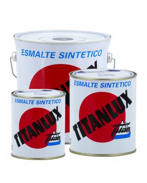 Titan Emaille Titanlux Weiß / Schwarz glänzend