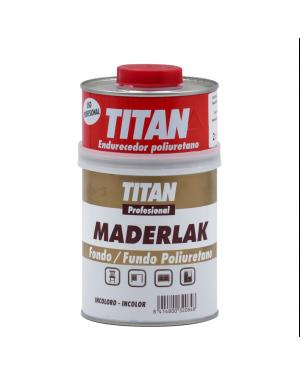 Titan Profesional Fondo PU Incoloro Maderlak Titan 750 ml