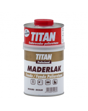 Titan Sfondo PU Colorless Maderlak Titan 750 ml