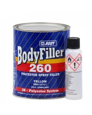 HB BODY Filler Polyester Bodyfiller 260 HBBody 1L