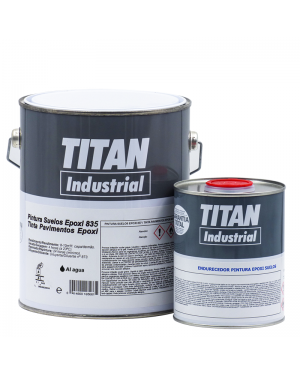 Solos de água Epoxi Titan Industrial 835 Titan